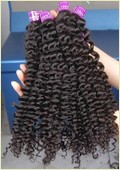 Afro Kinky Curly Human Hair Extension