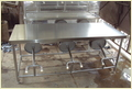 Stainless Steel Dining Table With Seater
