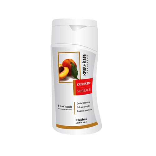 Herbal Face Wash – Peaches