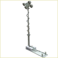 2.5m 4x60w LED Mounted Vehicle Roof Mount Move Lighting Tower System