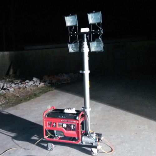Portable Telescopic Light Tower: Manufacturers, Suppliers & Exporters