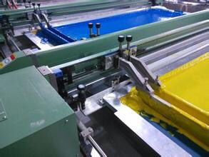 Machine Printing White And Clear Paste