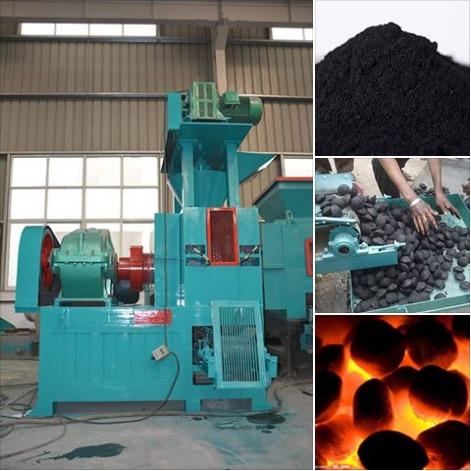 Coal Briquette Making Machine