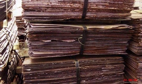 Electrolytic Copper Cathodes For Sale  99.99% Cu