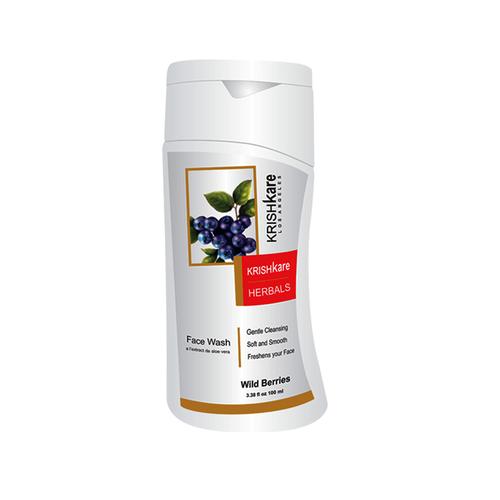 Herbal Face Wash – Wild Berries
