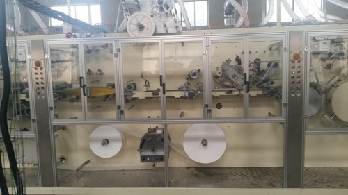 Sanitary Napkins Machine