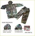 Oxford Polyester Pvc Military Poncho